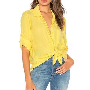 Bella Dahl long sleeve button town blouse NWOT